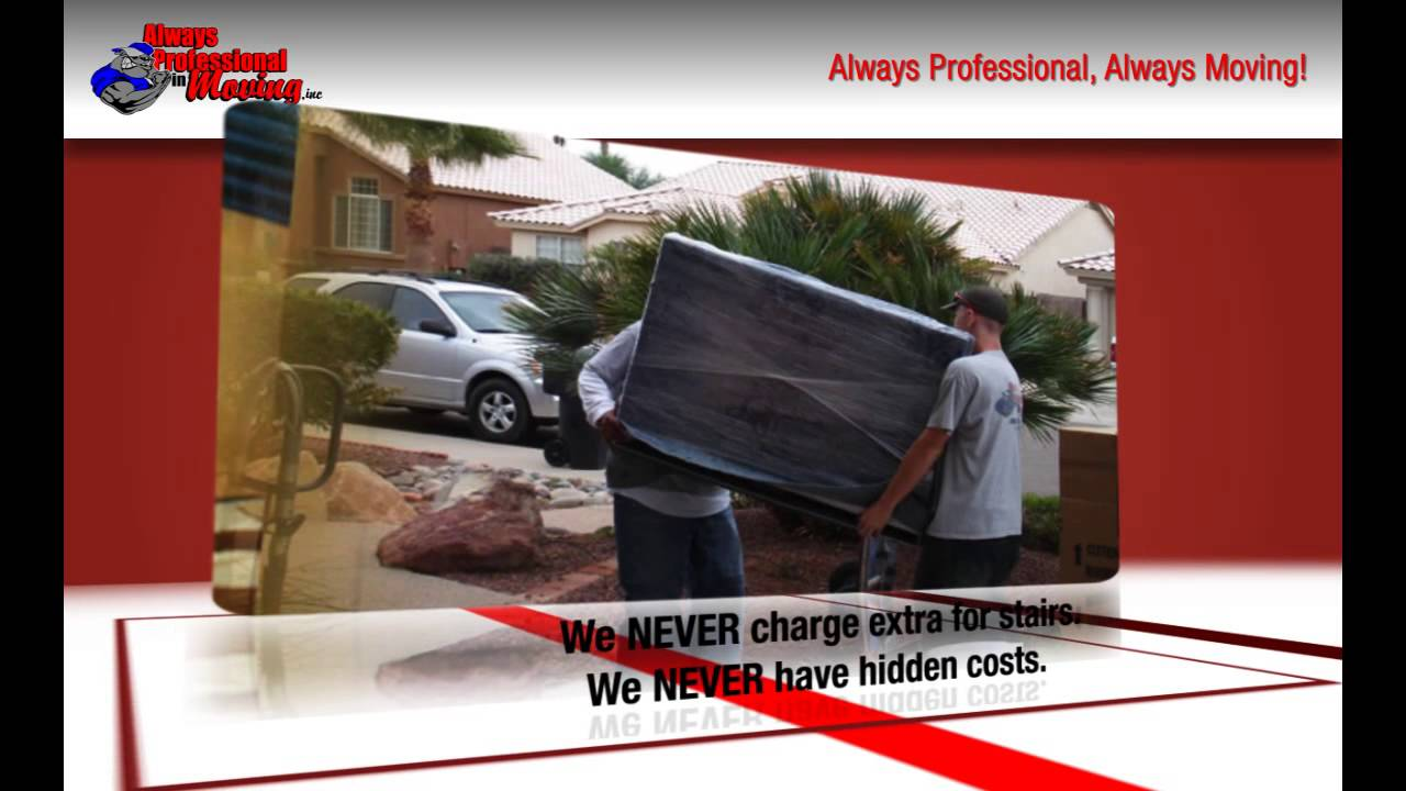 Always Professional In Moving Services