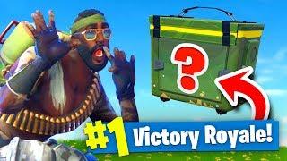 The *RANDOM* AMMO Box Challenge In Fortnite Battle Royale! thumbnail