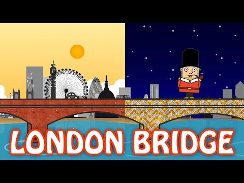 London Bridge Is Falling Down | Full Nursery Rhyme With Lyrics | Classic English Rhymes For Kids