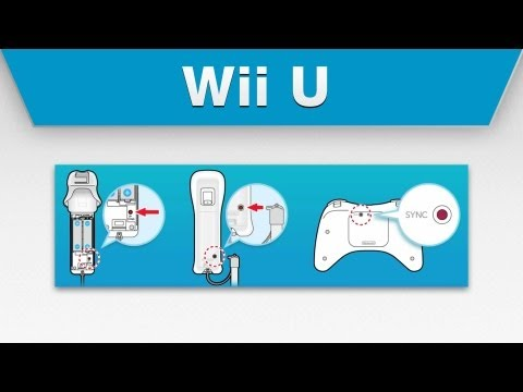 Wii U - How to Sync Your Wii Remote