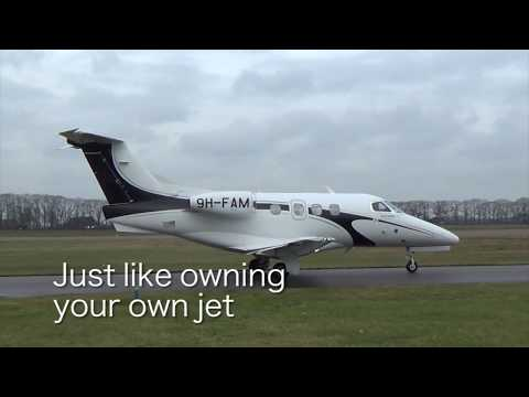Flying on a Private Jet - Luxwing JetClub Card & Fractional Ownership Schemes