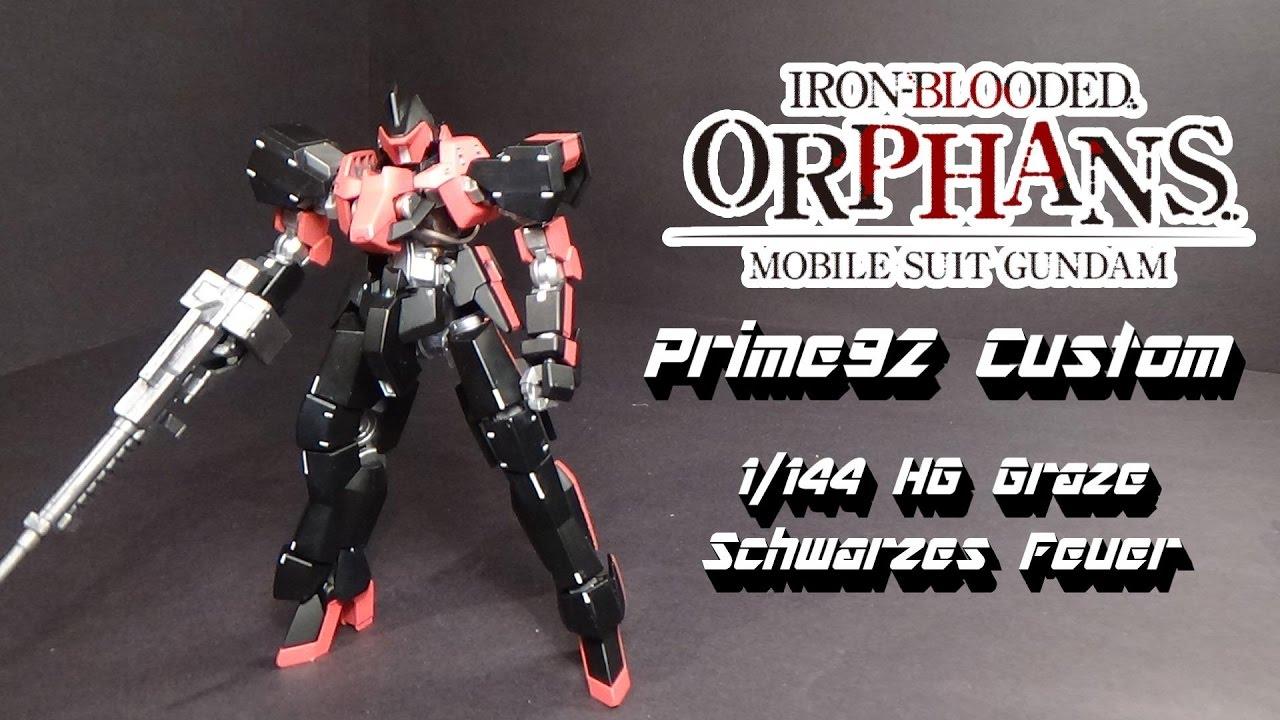Download Prime92 Custom: 1/144 HG Graze Schwarzes Feuer