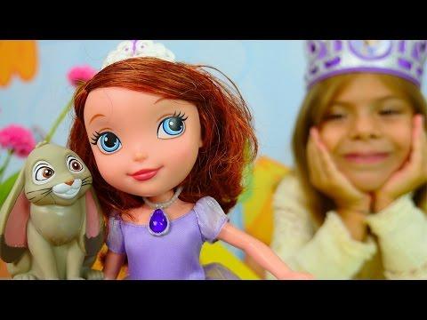 Мультик игра София Прекрасная готовится к Новому году (Princess Sofia Christmas Prep)