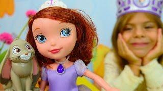 Видео для девочек - Принцесса София и Элис делают короны