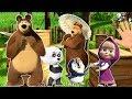 Маша и Медведь Семья пальчиков Finger Family Finger Family Songs mp3