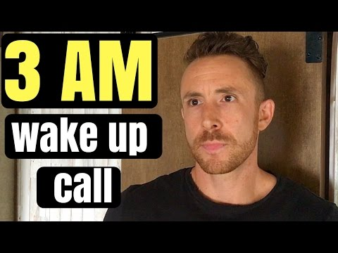 3AM Wake Ups, INSOMNIA, & Kundalini - (How They're Connected)