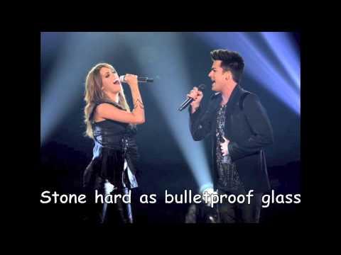 Angie Miller and Adam Lambert Titanium with Lyrics