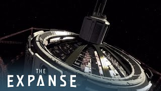 THE EXPANSE (360 Video) | Virtual Reality Tour of Tycho Station & The Nauvoo | Syfy