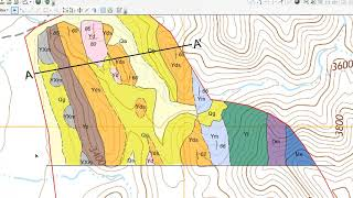2018 Geologic Map Compilation (7): Geologic Cross Section