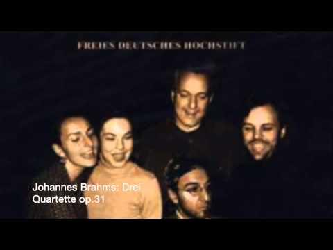 Johannes Brahms: Drei  Quartette op 31