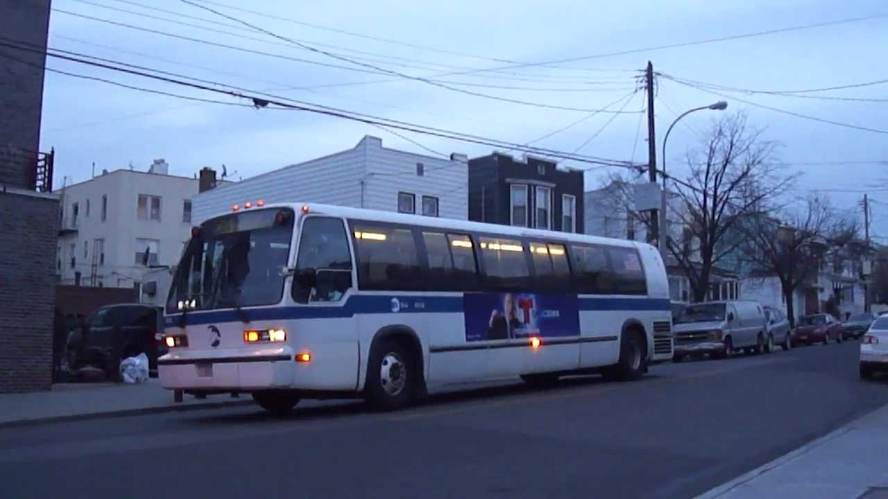 1995-97 nova-bus rts-06 #8932 on the q39 @ flushing avenue & 61st