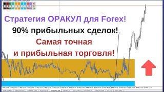Стратегия ОРАКУЛ для Forex! Самая точная и прибыльная торговля! 90% прибыльных сделок!