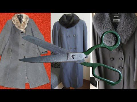Как сшить пальто из старого пальто своими руками