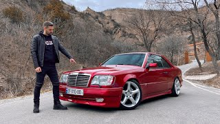 უხეში ტესტ დრაივი – Mercedes W124 Coupe! ხარისხის ეტალონი!