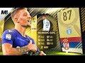 FIFA 18 TIF MILINKOVIC SAVIC REVIEW | 87 MILINKOVIC SAVIC PLAYER REVIEW | FIFA 18 ULTIMATE TEAM
