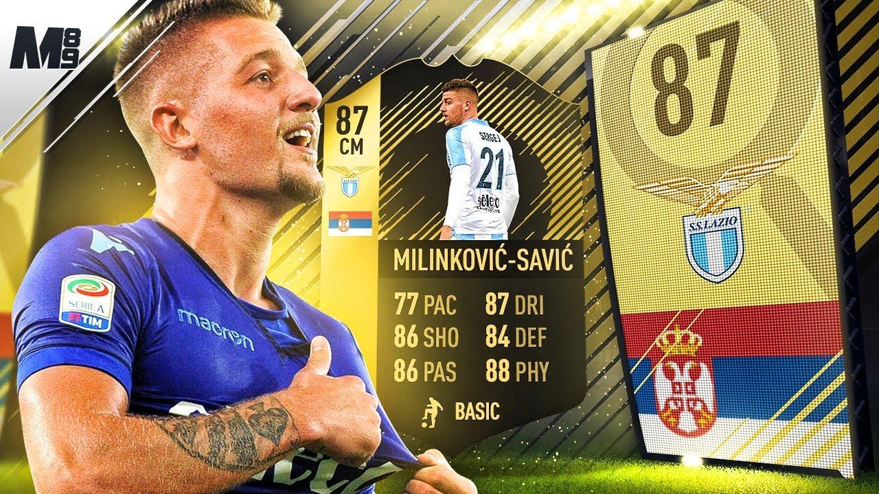 FIFA 18 TIF MILINKOVIC SAVIC REVIEW | 87 MILINKOVIC SAVIC PLAYER REVIEW |  FIFA 18 ULTIMATE TEAM - YouTube