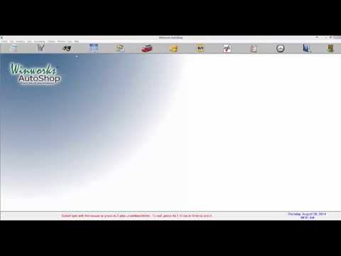 Winworks Tutorial Videos | Winworks Autoshop Software