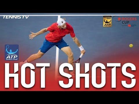 Hot Shot: Shapovalov Fires Backhand Pass Montreal 2017