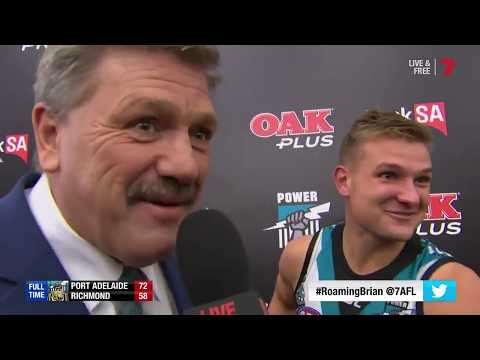 Roaming Brian In The Port Adelaide Football Club Rooms!