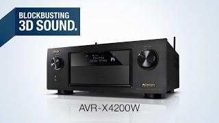 Der AVR-X4200W Netzwerk-AV-Receiver - Blockbusting 3D-Sound