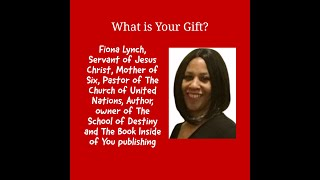 What is your gift with Pastor Fiona Lynch