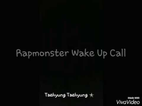 BTS WAKE UP CALL FOR YOU😍😍😍