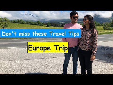 What to pack for Europe trip from India |Travel Essentials | [in Hindi]