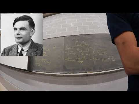 Alan Turing, Reaction-Diffusion, and Morphogenesis