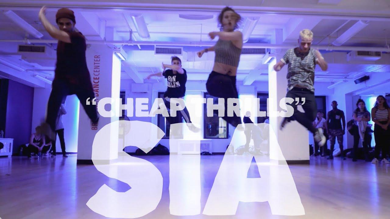 Thrills Sia Cography By Derek Mitchell At Broadway Dance Center