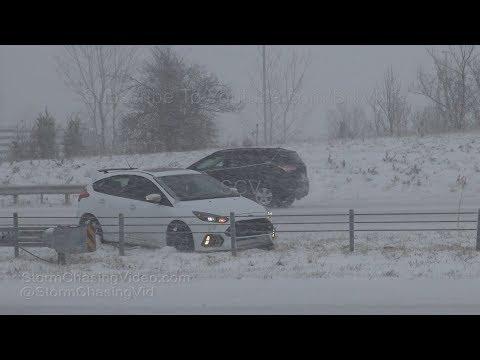 Kansas City, MO Blizzard Impacts Region - 11/25/2018