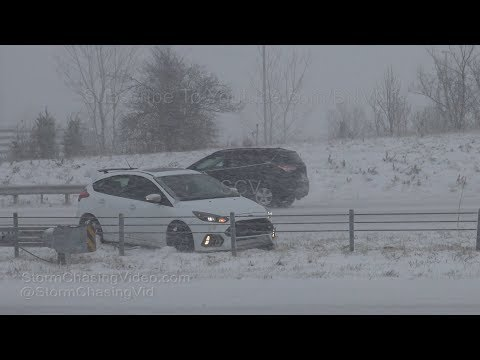 Kansas City, MO Blizzard Impacts Region - 11/25/2018