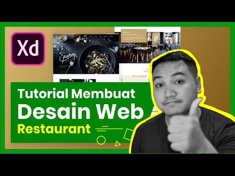 Cara Membuat Desain Web Restaurant BalconyJogja.com - Adobe XD Tutorial Indonesia thumbnail