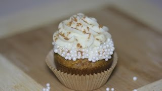 White Chocolate Pumpkin Cupcakes With Thescranline