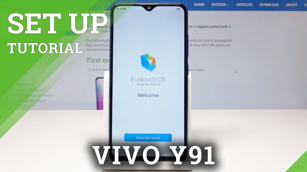 How to Set Up VIVO Y91 - VIVO Initialization Setup Process