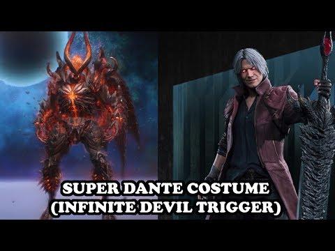 Devil May Cry 5 - Super Dante (Infinite Devil Trigger & Sin Devil Trigger MAJIN FORM) PS4 GAMEPLAY