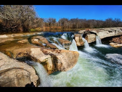 McKinney Falls State Park in the city of Austin