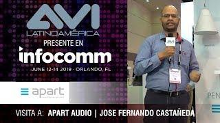 Visita a Apart Audio durante  InfoComm Orlando 2019
