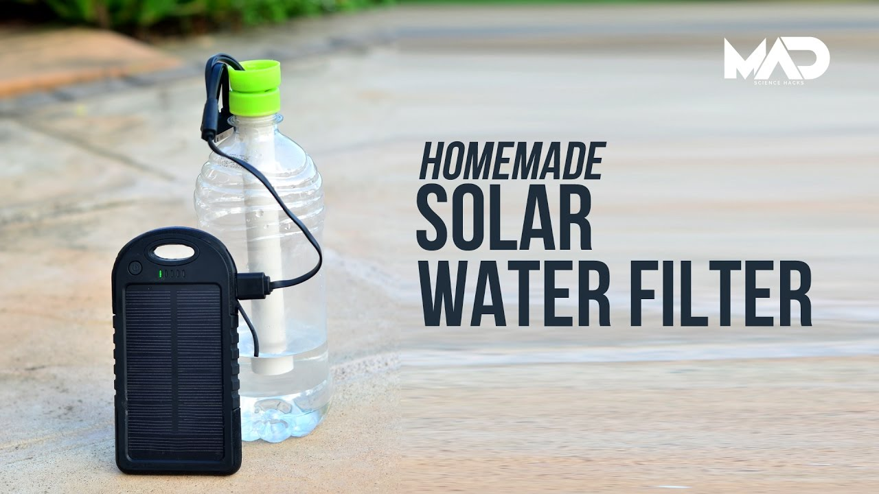 Solar Powered Survival Water Filter