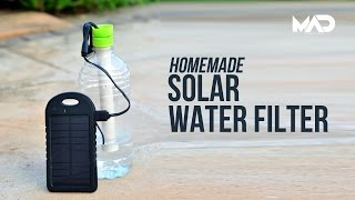 Homemade Solar water filter - Simple Life hack