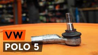 Spoorstangkogel monteren VW POLO Saloon: gratis videogids