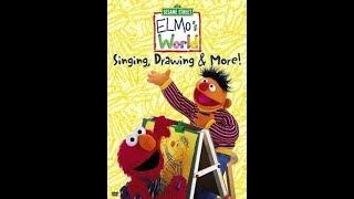 Elmo's World: Singing, Drawing & More (2000 DVD)
