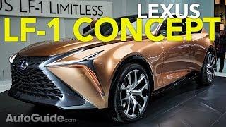 Lexus LF-C Concept Videos