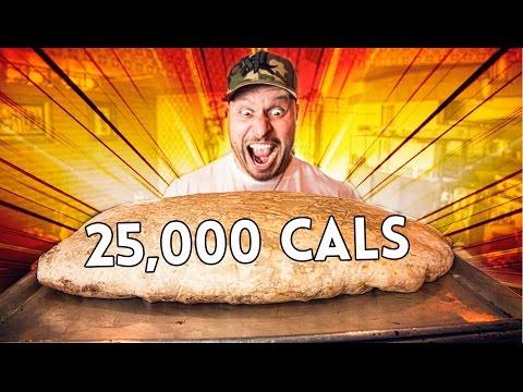 30lb Massive Burrito Challenge (World's LARGEST Burrito) | 25,000 Calories