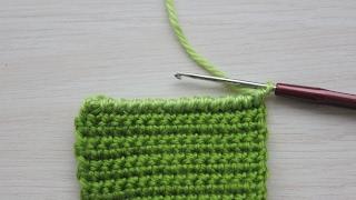 Вязание крючком. Урок 16.1 - Рачий шаг (1 способ) | Crochet for beginners. Rachy step