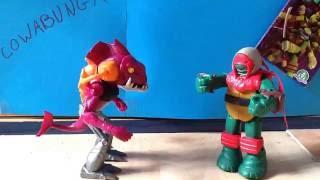 Teenage Mutant Ninja Turtles Nickelodeon Stop Motion