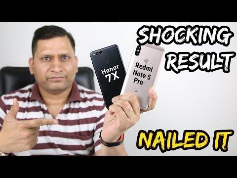 Xiaomi Redmi Note 5 Pro VS Honor 7X | Shocking Results😲😲😲😲