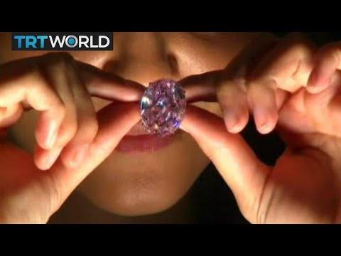 Diamond Market: Rare white diamond set for auction record
