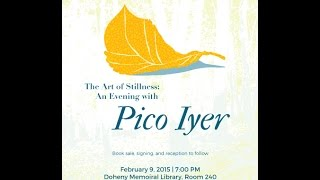 The Art of Stillness: An evening with Pico Iyer