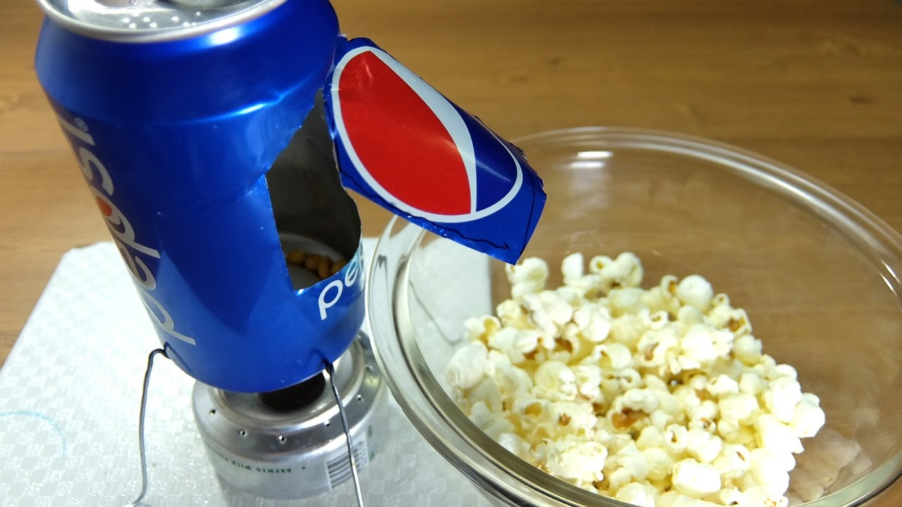 how to make popcorn machine