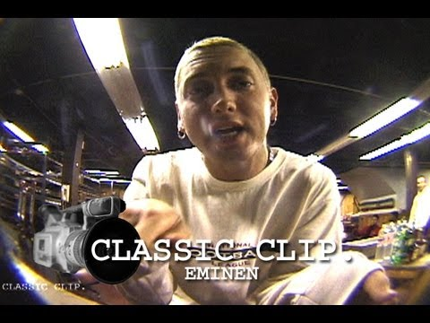 Eminem You're Watching 411 Slim Shady Station ID Classic Clip